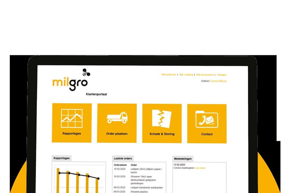 klantportaal-tablet-milgro